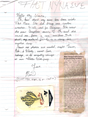Marie's Letter