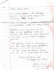 AshSnow's Letter